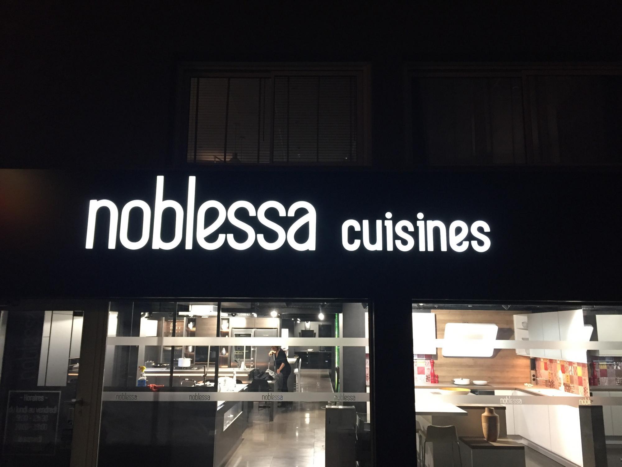 Enseigne Noblessa Cuisines Puget Sur Argens Toulon - Noblessa cuisine
