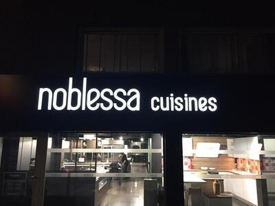 Enseigne Noblessa cuisines Puget sur Argens – Toulon